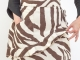 Zebra print Apron by Ann Perry Designs
