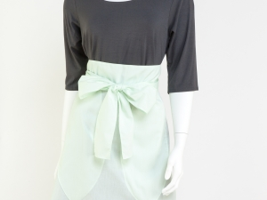Mint Half Apron by Ann Perry Designs