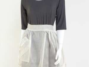 Vintage Flirty Sheer Apron