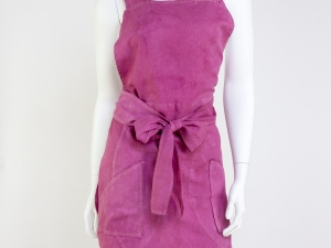 Ladies Full Tulip Style Apron- Soft Violet